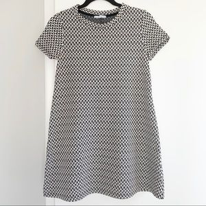 Zara Trafaluc Patterned A-Line Dress